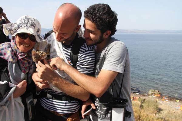Syrische Flüchtlinge und ihre Haustiere