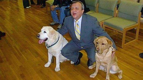 Der Blindenhund vom 11. September, der zurückkehrte, um sein Herrchen zu retten
