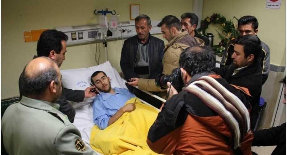 Ein iranischer Soldat rettet Hund - Bakthar