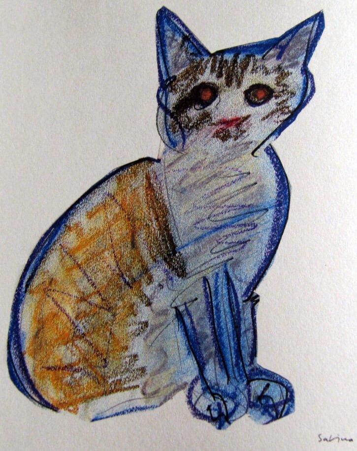 Katzen Gemälde
