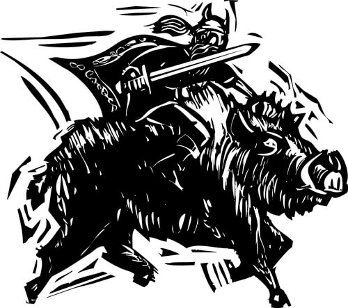 Heiliges Wildschwein