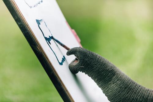 Malende Elefanten