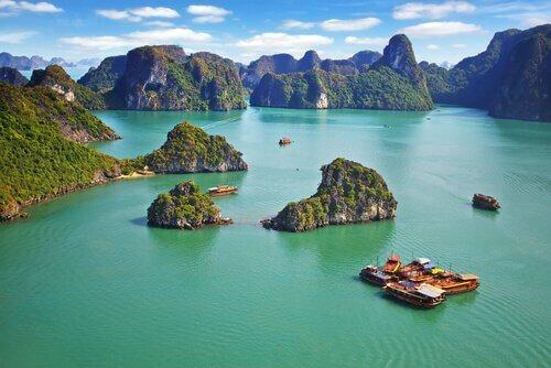 Bucht von Ha Long