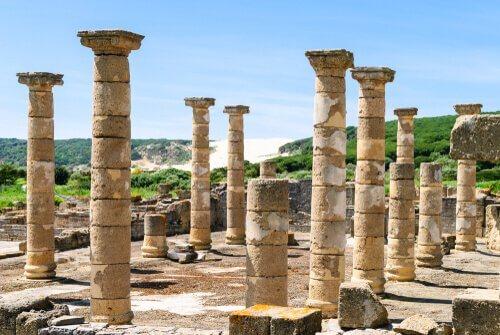 Reste einer römischen Stadt