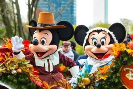 Das Firmenmaskottchen Mickey
