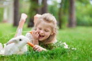 Kaninchen verfügen über Qualitäten, die sie zu guten Therapietieren machen