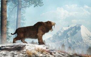 Diese prähistorische Katze lebte im Pleistozän